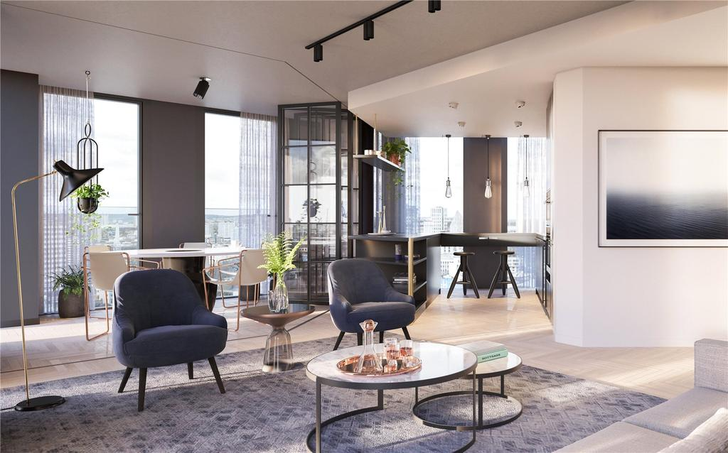 3 Bedrooms Apartment Flat for sale in One Crown Place, Hackney, EC2A
