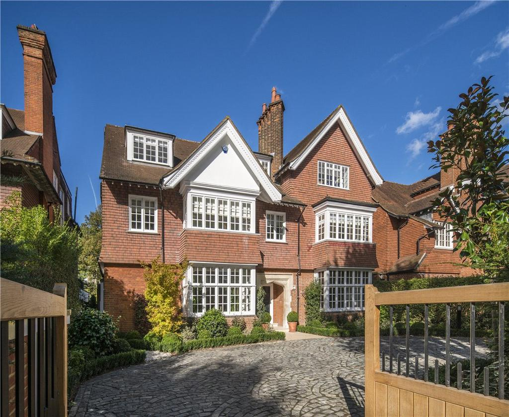 6 Bedrooms Detached House for sale in Wadham Gardens, Primrose Hill, London, NW3