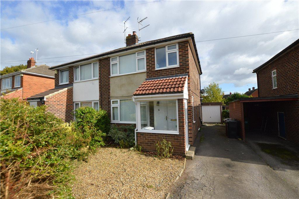 3 Bedrooms Semi Detached House for sale in Beechwood Rise, Wetherby, West Yorkshire