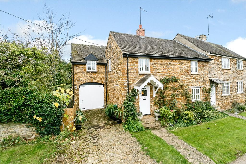 4 Bedrooms Semi Detached House for sale in Westhorpe Lane, Byfield, Daventry, Northamptonshire