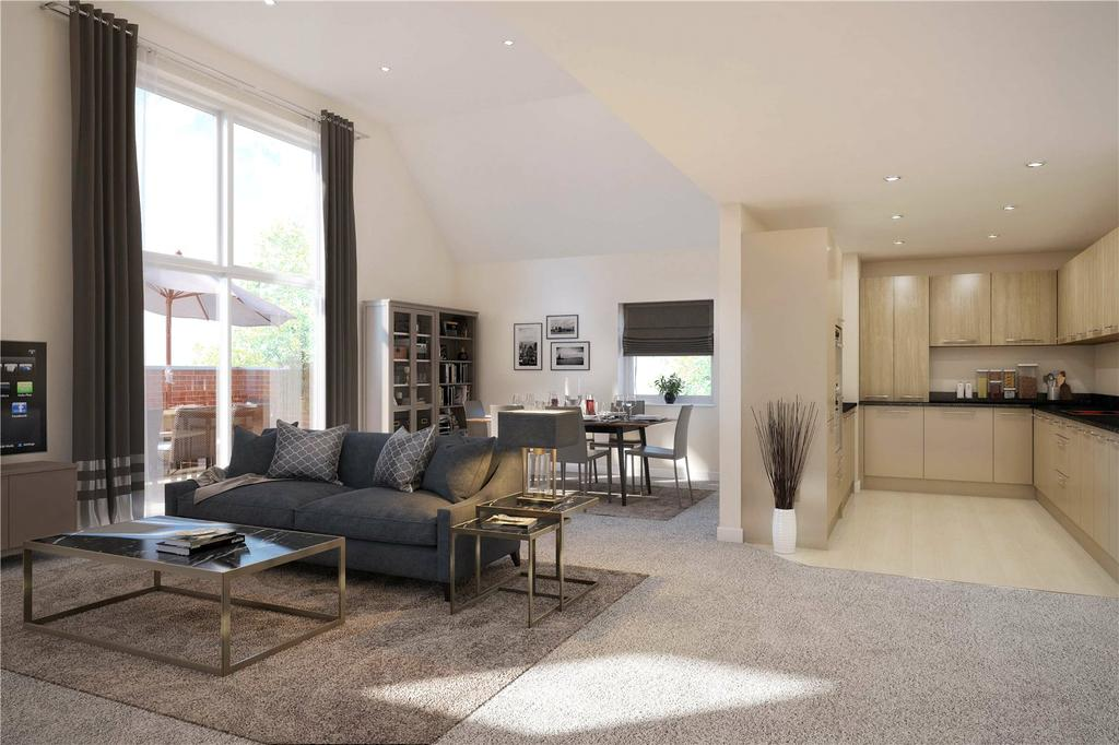 2 Bedrooms Flat for sale in Bell Mead Heights, High Street, Ingatestone, Essex, CM4