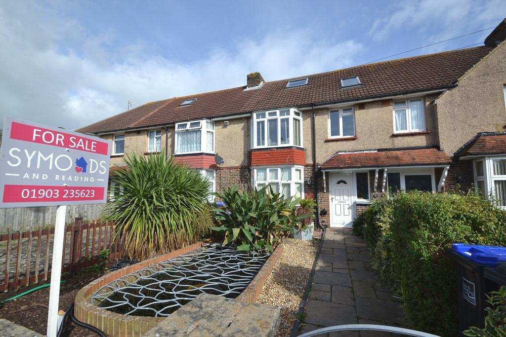 4 Bedrooms Terraced House for sale in Marlowe Road, Broadwater, BN14 8EP
