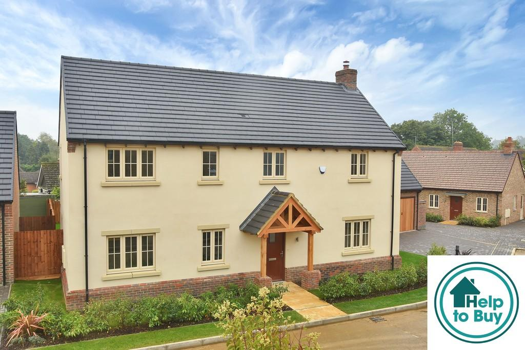 4 Bedrooms Detached House for sale in 4 Stokes Rise, Great Easton - Help To Buy