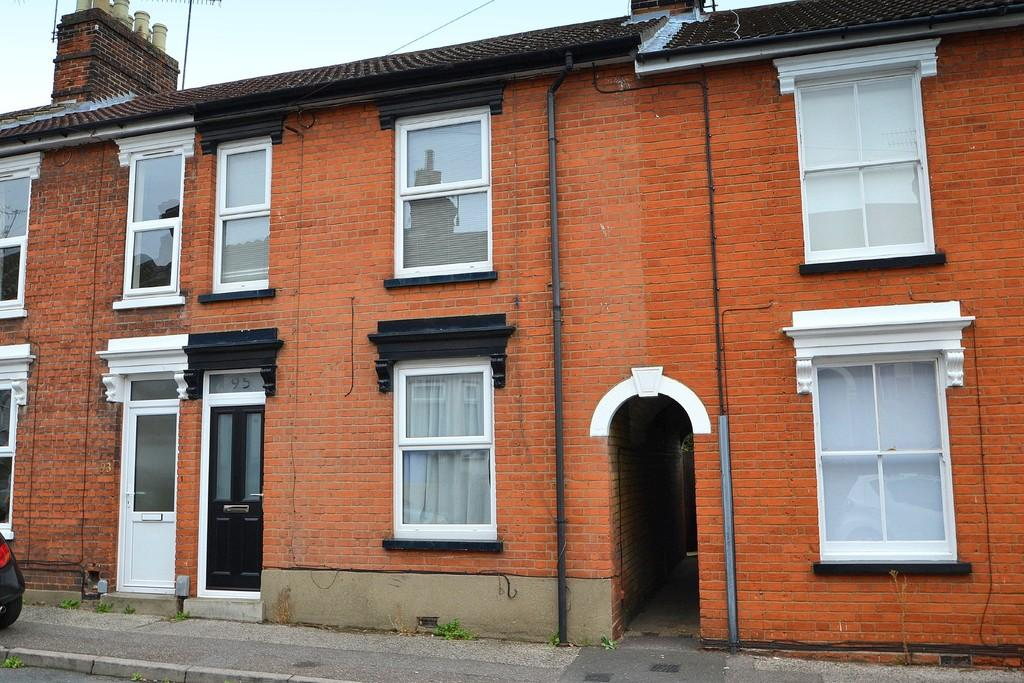 2 Bedrooms Terraced House for sale in Rectory Road, Ipswich, IP2 8EQ