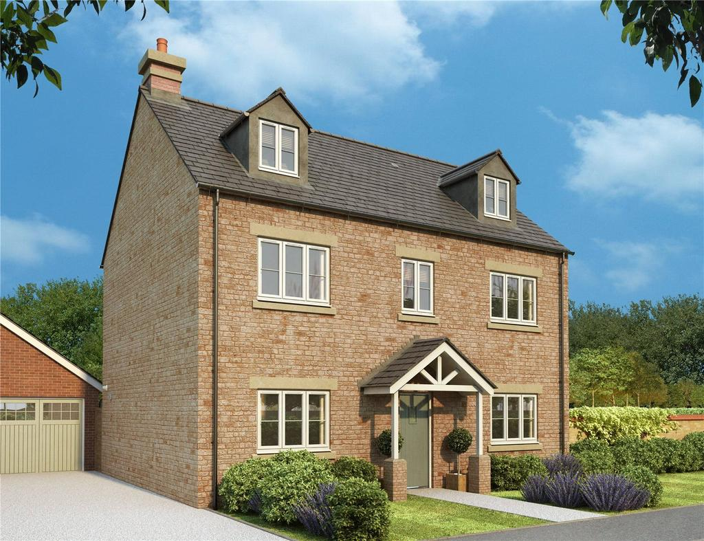 5 Bedrooms Detached House for sale in Ash Gardens, Burcote Park, Wood Burcote, Northamptonshire, NN12