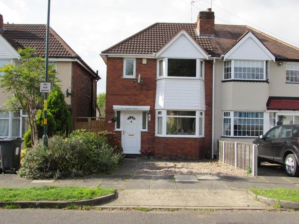 3 Bedrooms Semi Detached House for sale in Woodvale Road, Hall Green