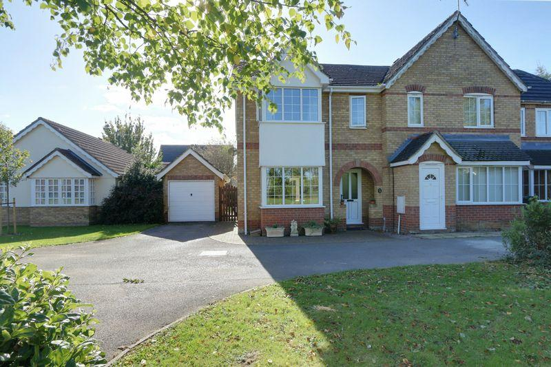 3 Bedrooms Semi Detached House for sale in Orton Drive, Witchford