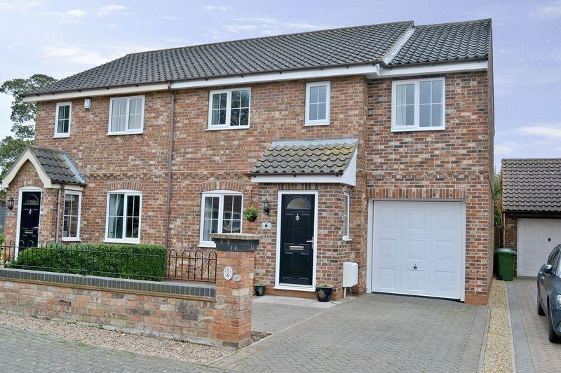 5 Bedrooms Semi Detached House for sale in The Glebe, Sturton By Stow