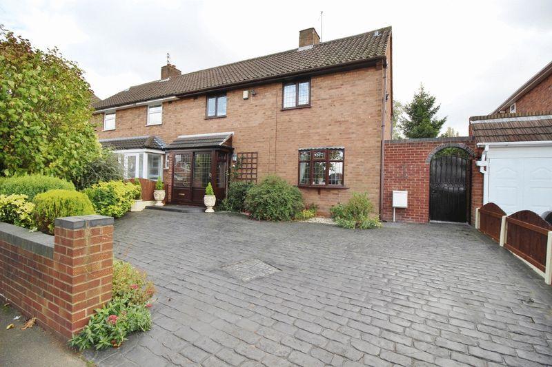 3 Bedrooms Semi Detached House for sale in Blackhalve Lane, Wednesfield