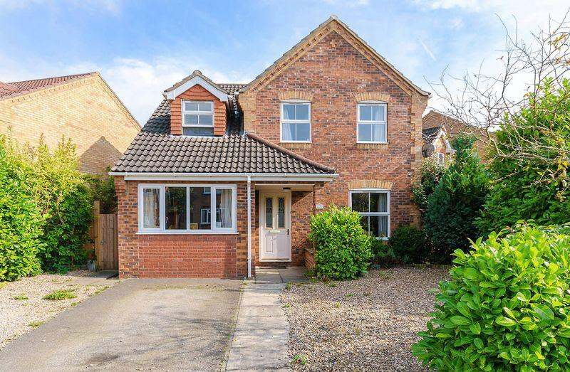 4 Bedrooms Detached House for sale in Thomas Gibson Drive, Horncastle