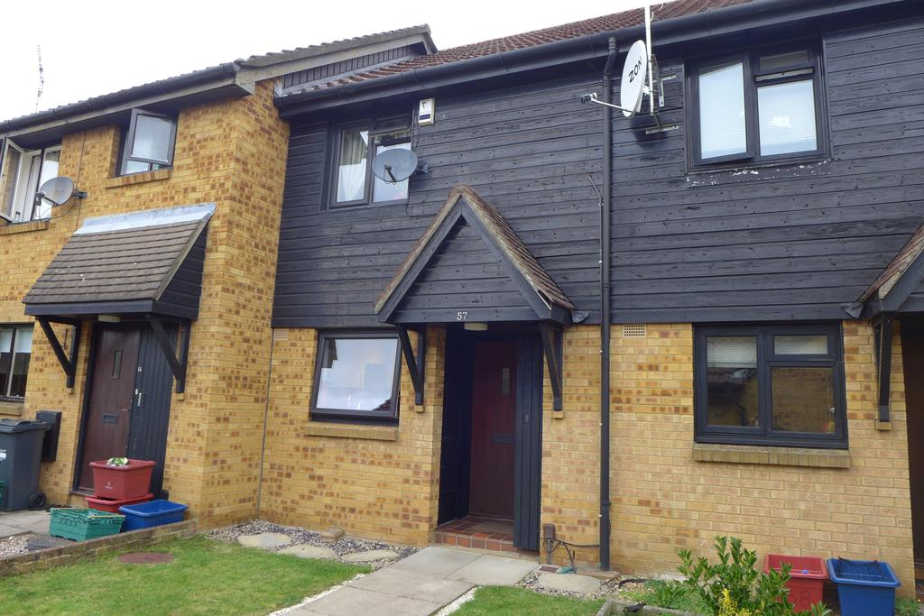 2 Bedrooms Terraced House for sale in Deerhurst Close, Feltham