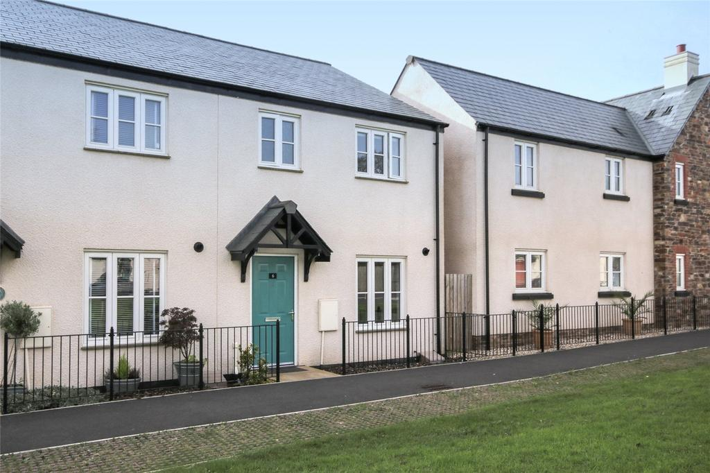3 Bedrooms End Of Terrace House for sale in Peasberry Place, Yealmpton, Devon, PL8
