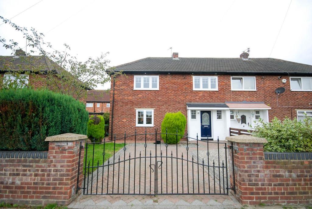 2 Bedrooms Semi Detached House for sale in Grasmere Road, Hebburn