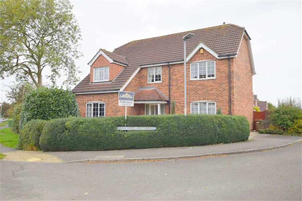 4 Bedrooms Detached House for sale in Markhams Orchard, Scartho, North East Lincolnshire