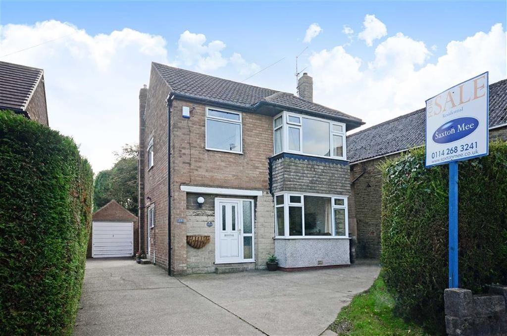 3 Bedrooms Detached House for sale in 215, Bradway Road, Bradway, Sheffield, S17