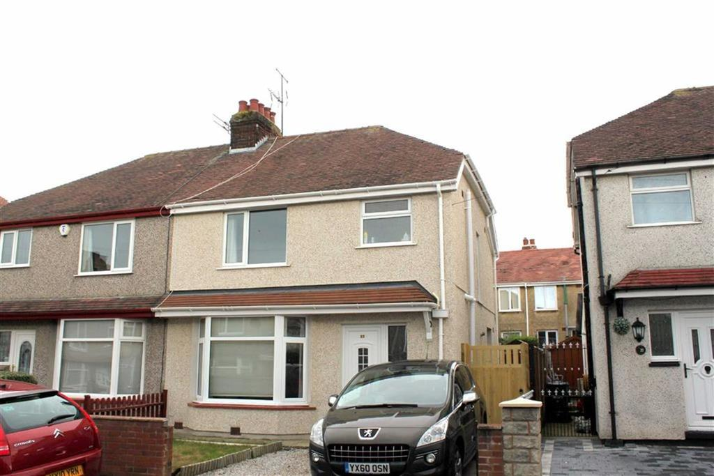3 Bedrooms Semi Detached House for sale in Penrhos Avenue, Llandudno Junction, Conwy
