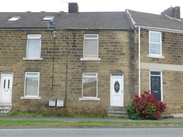 2 Bedrooms Terraced House for sale in ROGERSON TERRACE, CROXDALE, DURHAM CITY : VILLAGES EAST OF