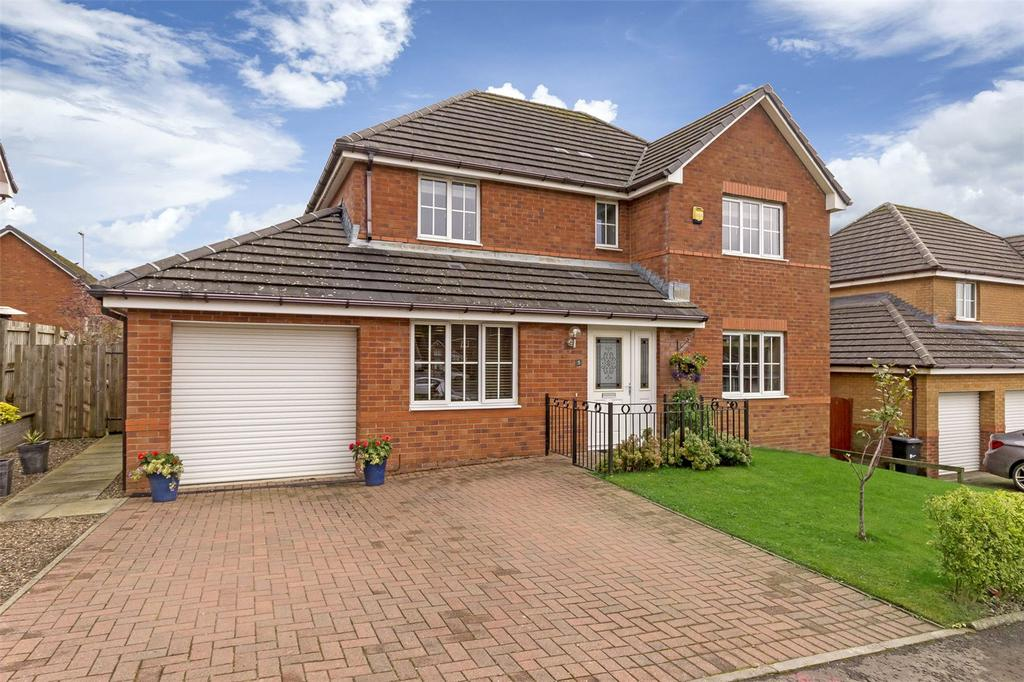 4 Bedrooms Detached House for sale in 5 Thirlfield Wynd, Livingston, West Lothian, EH54