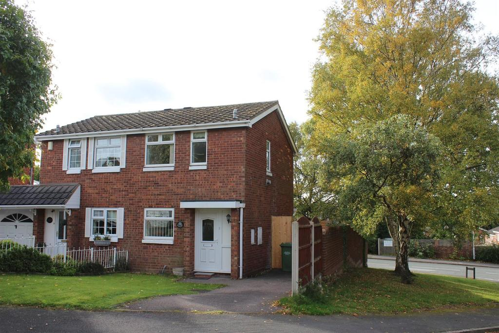 2 Bedrooms Semi Detached House for sale in Hanlith, Wilnecote, Tamworth