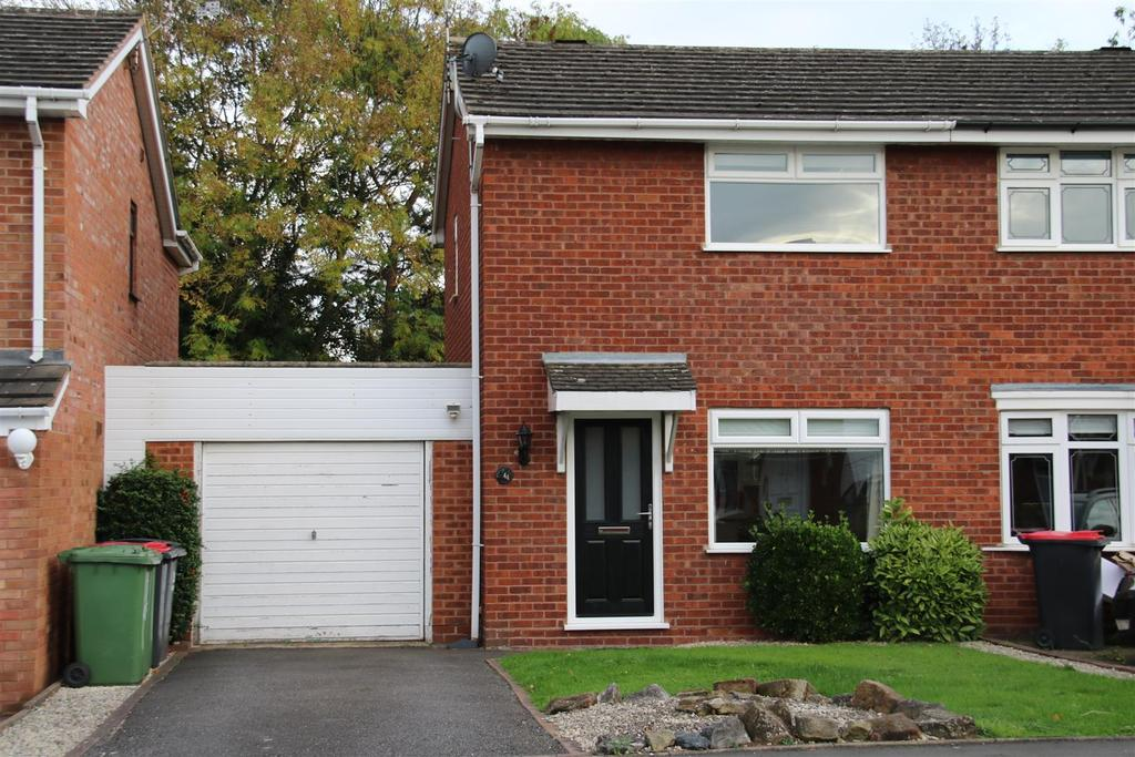 2 Bedrooms Semi Detached House for sale in Elm Tree Close, Kingsbury, Tamworth