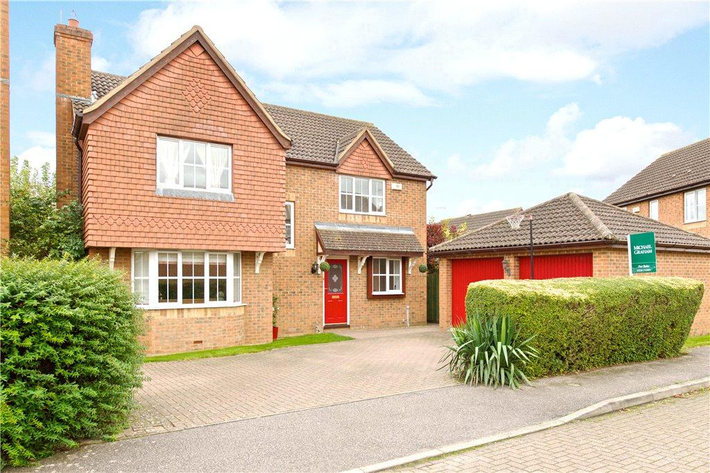4 Bedrooms Detached House for sale in Lilly Hill, Olney, Buckinghamshire