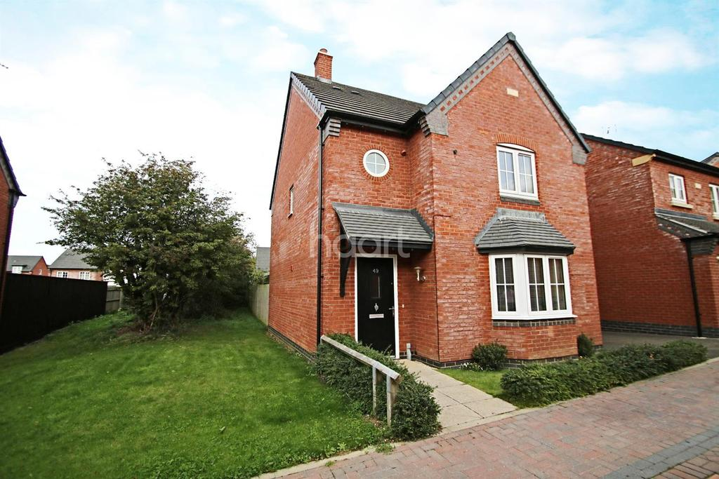 3 Bedrooms Detached House for sale in Ridleys Close, Countesthorpe, Leicester