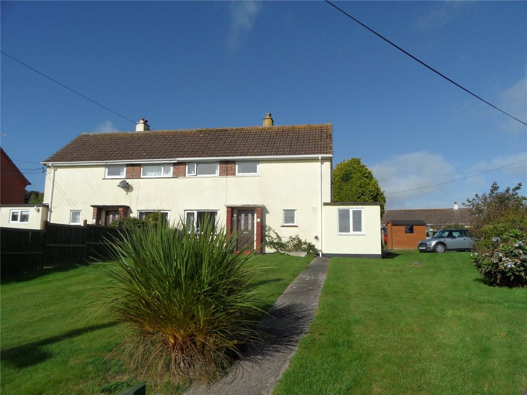3 Bedrooms Semi Detached House for sale in Hyne Town Estate, Strete, Nr Dartmouth, TQ6