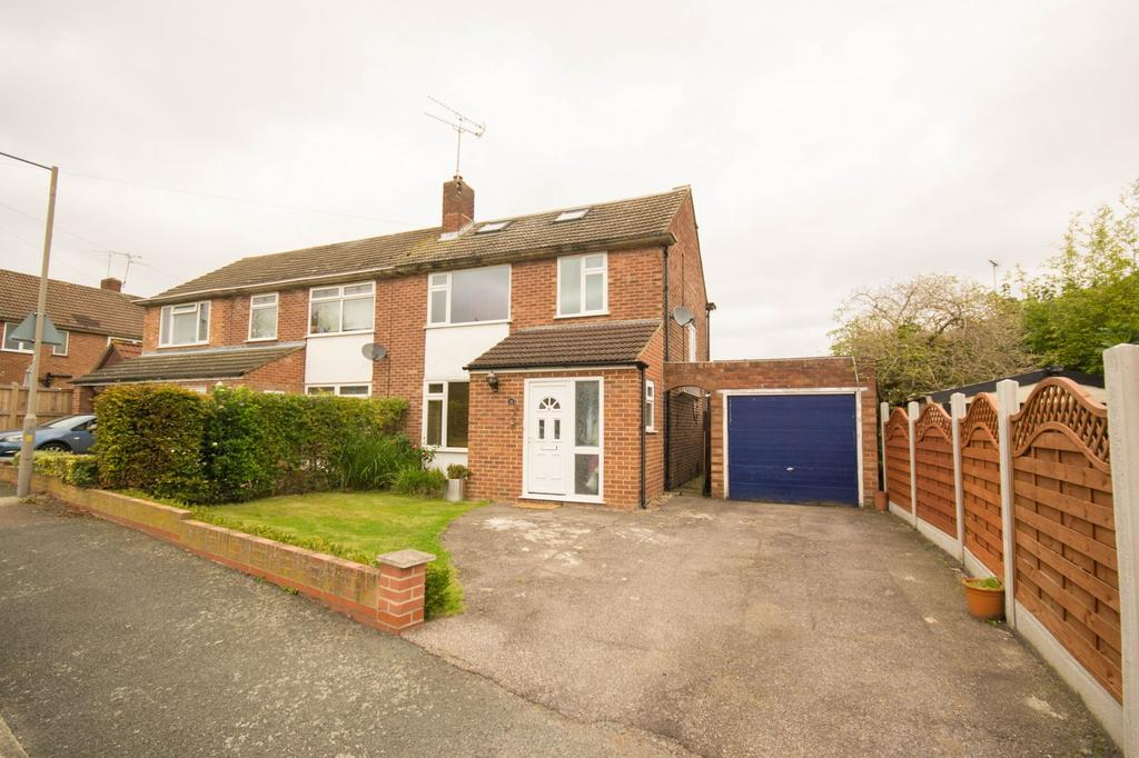 4 Bedrooms Semi Detached House for sale in Queenswood Avenue, Hutton, Essex CM13
