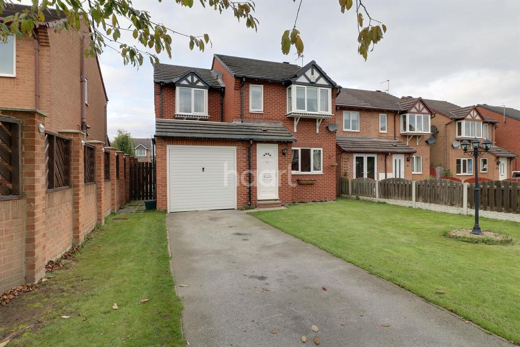 4 Bedrooms Detached House for sale in Pavillion Close, Edlington, Doncaster