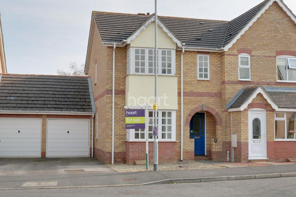 3 Bedrooms Semi Detached House for sale in Orton Drive, Witchford, Ely