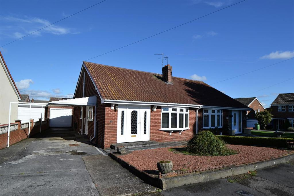 2 Bedrooms Semi Detached Bungalow for sale in Oval Park, Spennymoor, Spennymoor