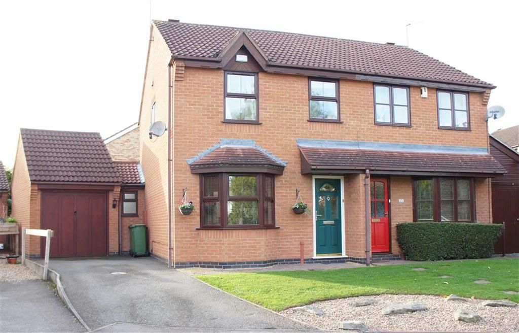 3 Bedrooms Semi Detached House for sale in Acacia Close, Leicester Forest East