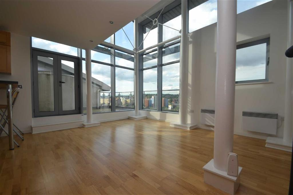 2 Bedrooms Penthouse Flat for sale in Santorini, City Island, Leeds, LS12