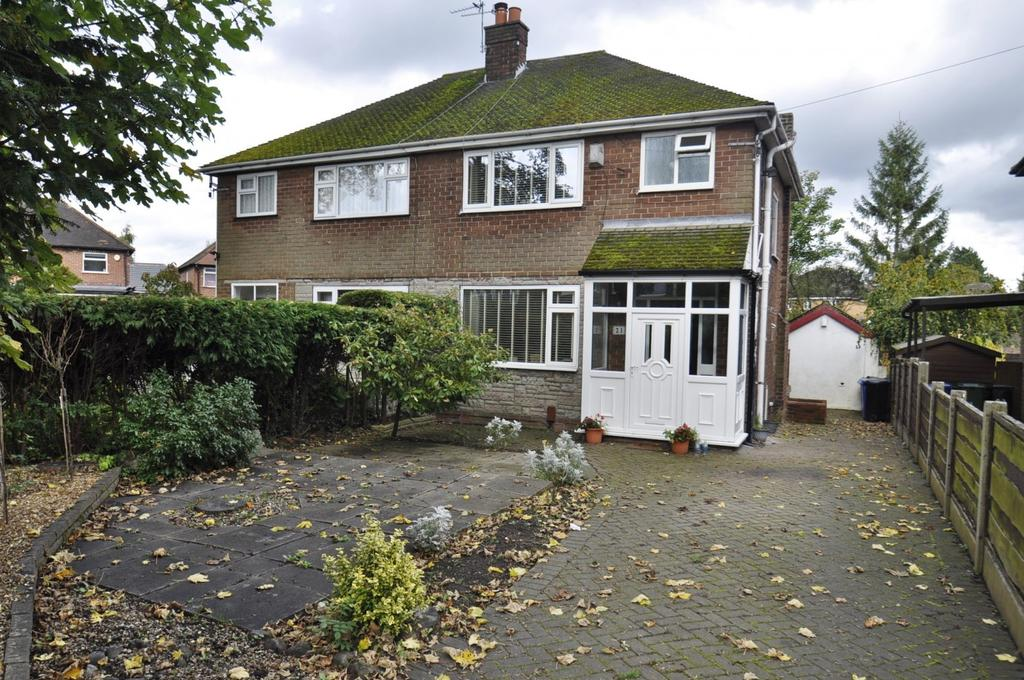 3 Bedrooms Semi Detached House for sale in Berkeley Road, Hazel Grove,