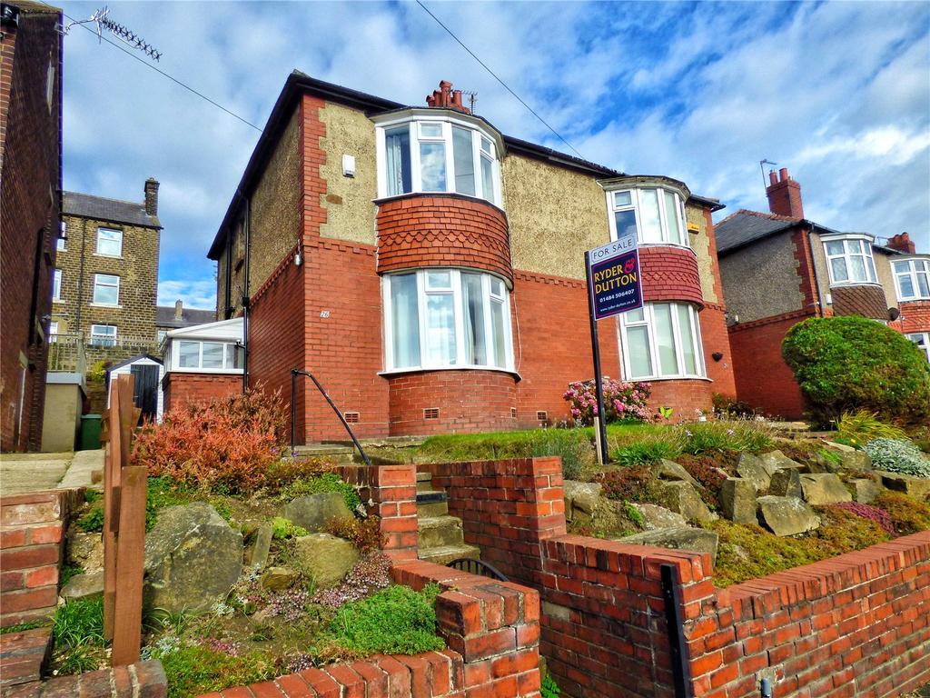 3 Bedrooms Semi Detached House for sale in Wheatfield Avenue, Huddersfield, West Yorkshire, HD3