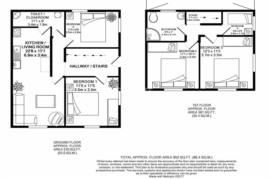 5 Bedrooms Terraced House for rent in Caroline Street, Newport Centre