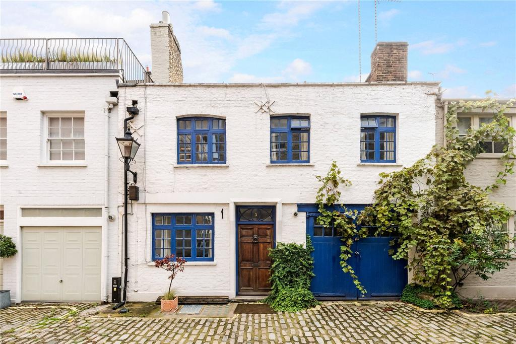 3 Bedrooms Mews House for sale in Clarkes Mews, London, W1G
