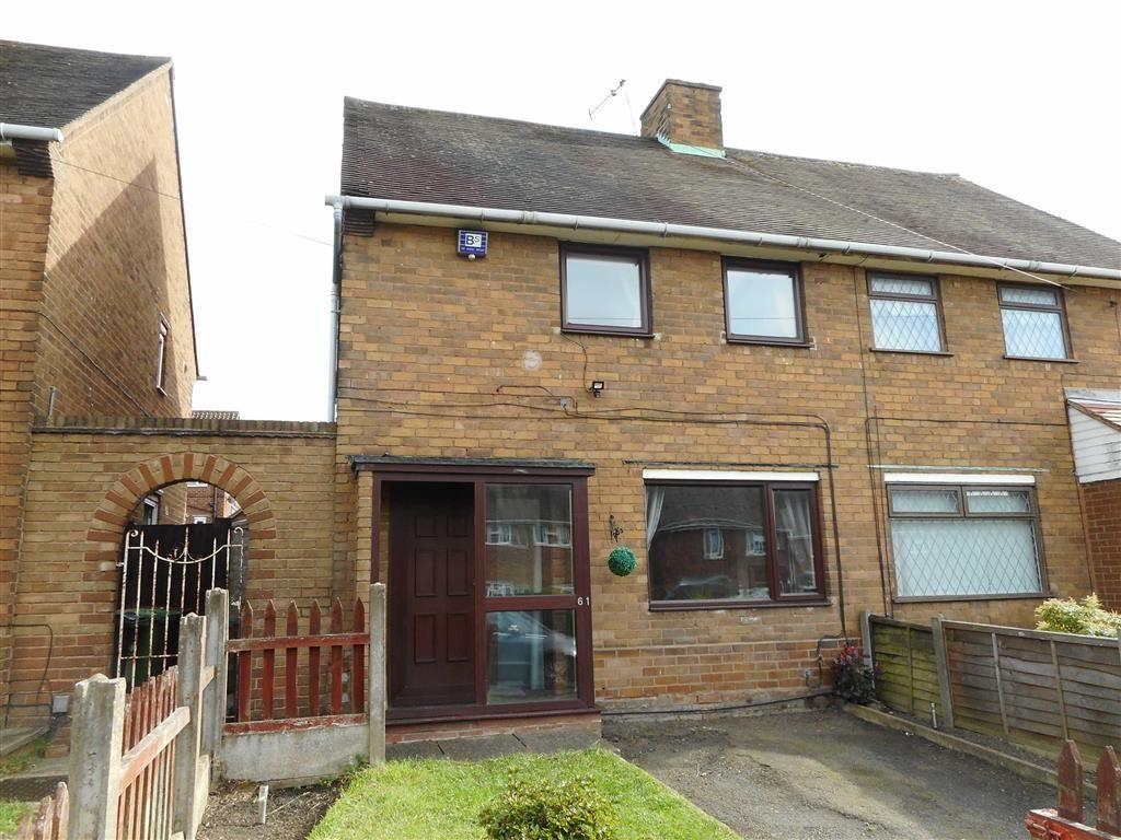 2 Bedrooms Semi Detached House for sale in Darwin Road, Walsall