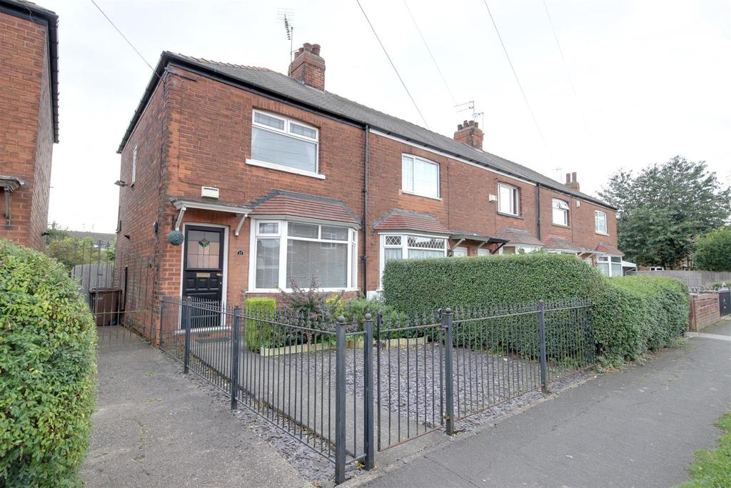 2 Bedrooms End Of Terrace House for sale in Fishemore Avenue, Hessle