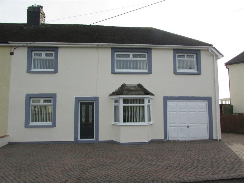 3 Bedrooms Semi Detached House for sale in Coxhill, Narberth, Pembrokeshire