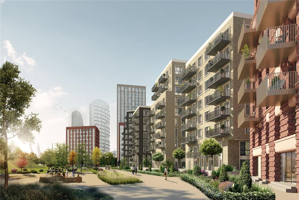 2 Bedrooms Apartment Flat for sale in Royal Captain Court, Blackwall Reach, E14