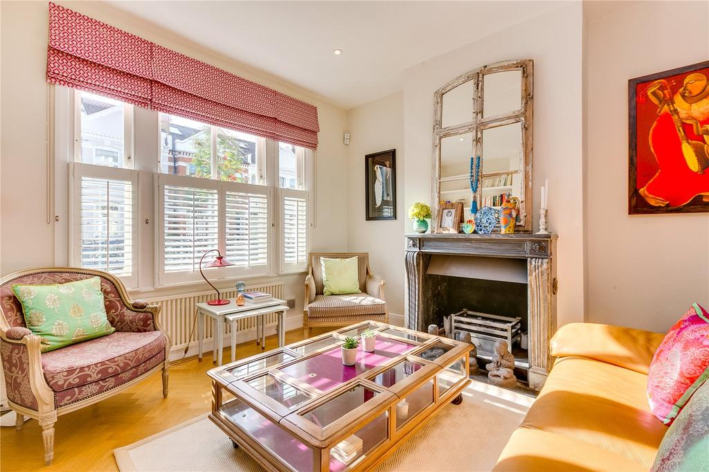 4 Bedrooms Terraced House for sale in Hazlebury Road, Sands End, Fulham, LONDON