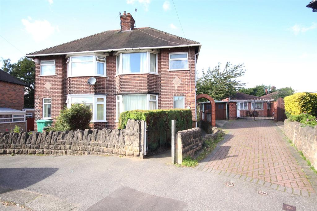 2 Bedrooms Semi Detached House for sale in Hadbury Road, Nottingham, Nottinghamshire, NG5