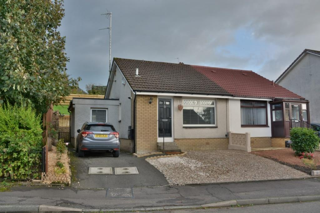 2 Bedrooms Semi Detached Bungalow for sale in 3 Bevan Grove, Johnstone, PA5 8TP
