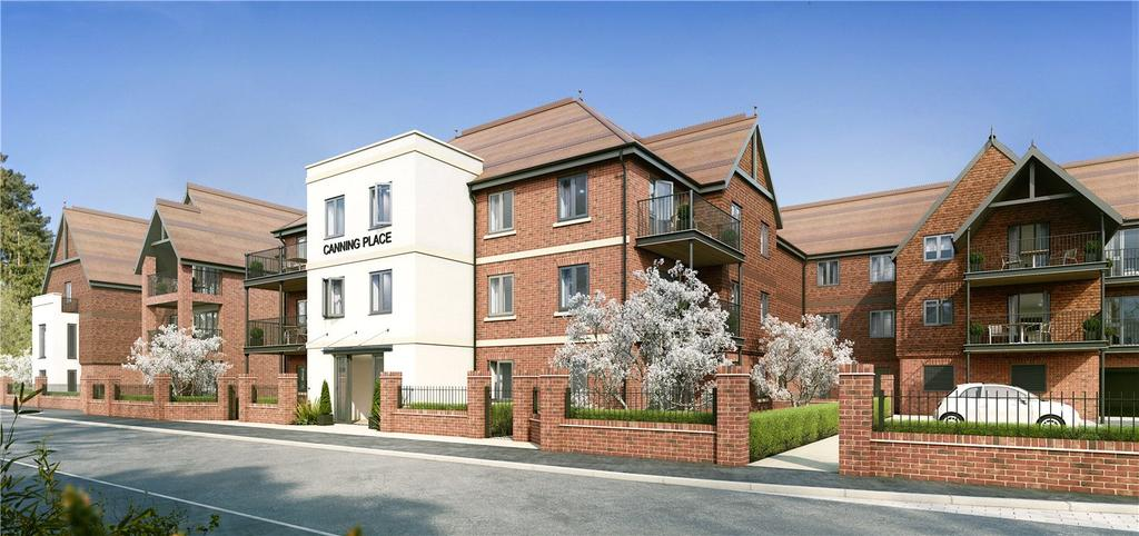 2 Bedrooms Retirement Property for sale in McCarthy Stone Apartments, Canning Place, Marlborough, Wiltshire, SN8