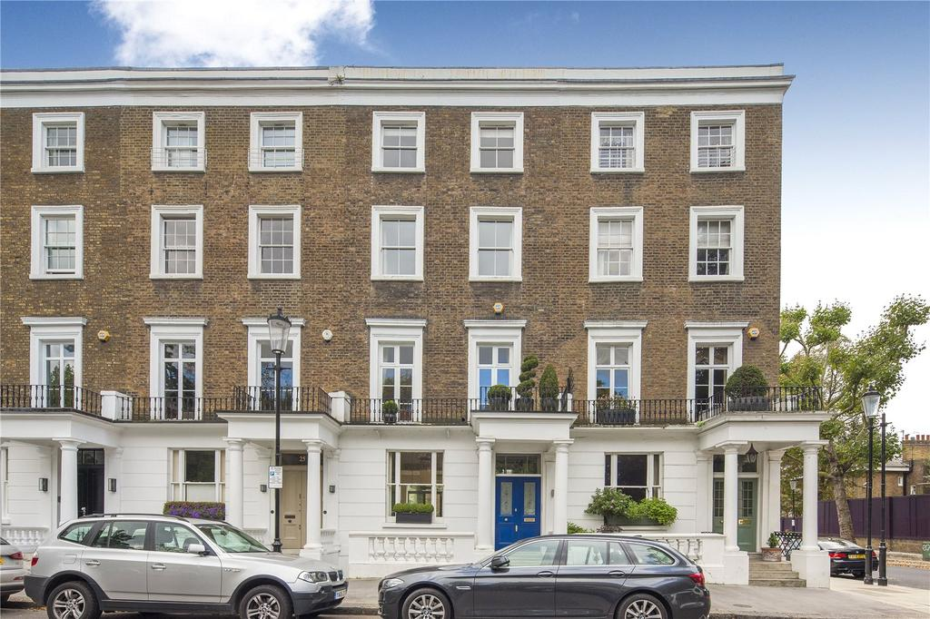 5 Bedrooms Terraced House for sale in Ladbroke Square, Notting Hill, London