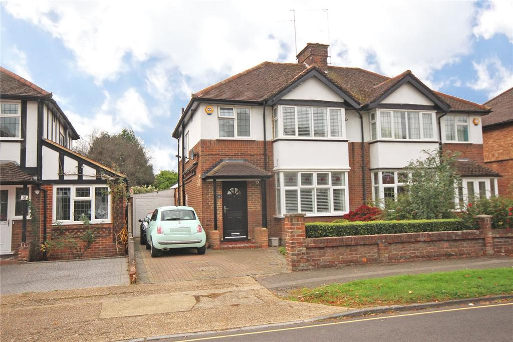 3 Bedrooms Semi Detached House for sale in Selwyn Drive, Hatfield, Hertfordshire