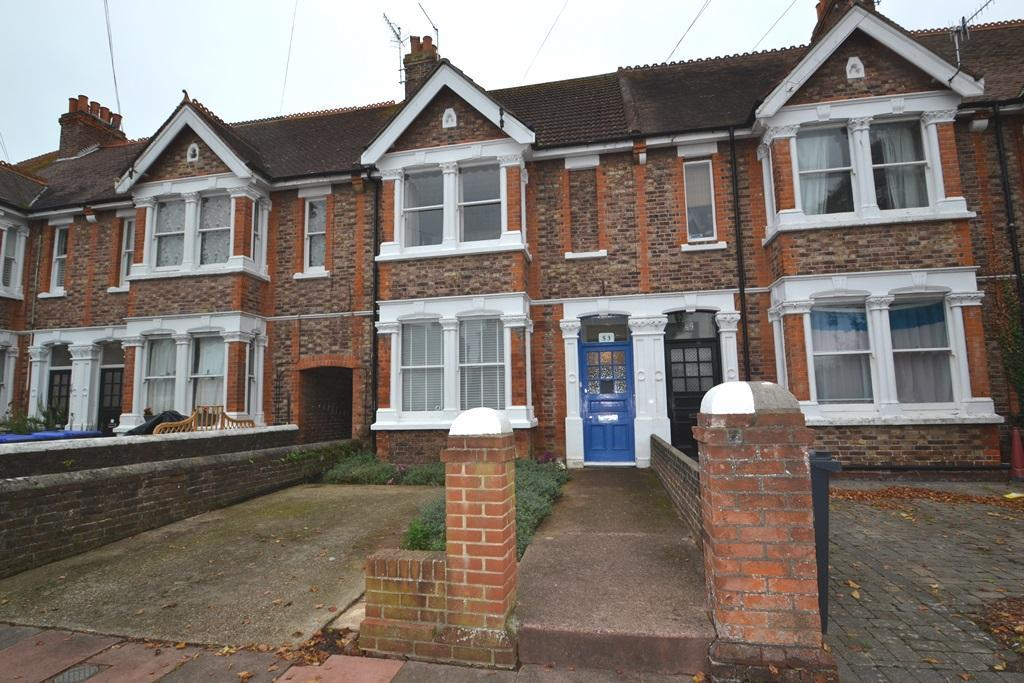 3 Bedrooms Terraced House for sale in Shakespeare Road, Worthing, West Sussex, BN11 4AT
