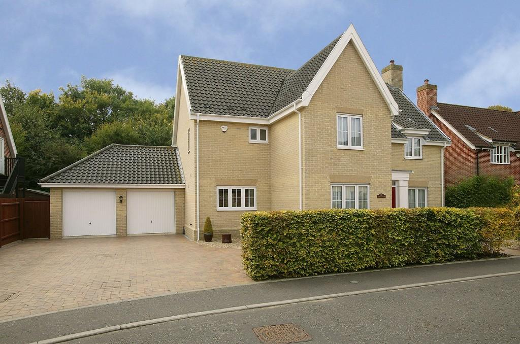 4 Bedrooms Detached House for sale in Cornfield Road, Mulbarton