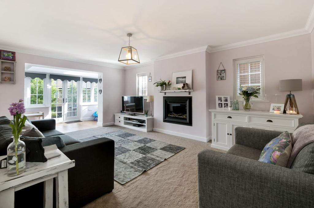 4 Bedrooms Detached House for sale in Nethermount, Bearsted